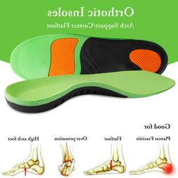 For Plantar Fasciitis Flat Feet Orthotic Shoe Insoles High A