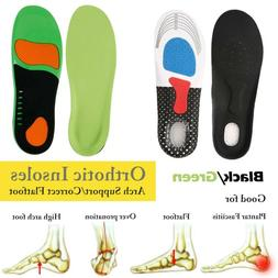 2PCS Orthotic Shoe Insoles Inserts Flat Feet High Arch Suppo