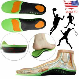 Orthotic Shoe Insoles Inserts Flat Feet High Arch Support Fo