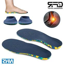 Orthotic Shoe Insoles Inserts Flat Feet High Arch Support Ki