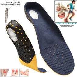 Orthotic Shoe Insoles Inserts Flat Feet High Arch Support Pl