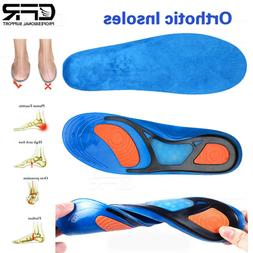 Orthotic Shoe Insoles Inserts Flat Feet High Arch Support Ge