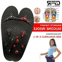 Orthotic Shoe Insoles Inserts Magnetic Feet High Arch Suppor
