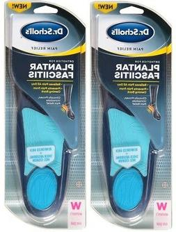 2pk Dr. Scholl's Pain Relief For Plantar Fasciitis Insoles f