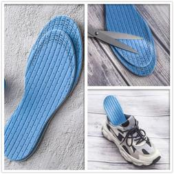 Pair Orthotic Soft Shoes Insoles Foot Support Insert Latex S