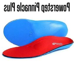Powerstep Pinnacle Plus Met Insoles Sandal, Red/Blue, Men's
