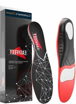 Plantar Fasciitis Arch Support Insoles for Men and Women Sho