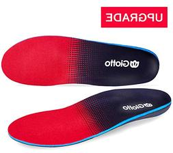 Giotto Plantar Fasciitis Flat Feet Orthotic High Arch Suppor