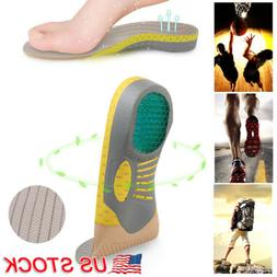 For Plantar Fasciitis Orthotic Shoe Insoles Inserts Flat Fee
