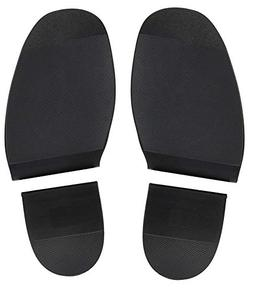 Biltrite Shoe Replacement Rubber Heels and Soles - 8 Inches