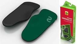 SPENCO RX ARCH CUSHIONS Supports 3/4 Length Shoe Insoles Ins