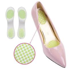 Shoes Pads Cushion Gel Heel Cup Insoles Massages Inserts Pai