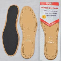 Taco 613 Luxus Comfort Leather Insoles Black / Tan Flat Shoe