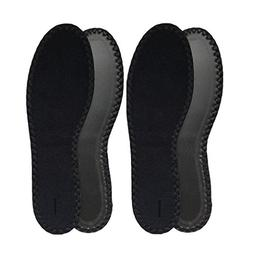 HappyStep 2 Pairs Terry Insoles The Best Barefoot Insoles, I