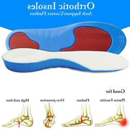 Thermal Arch Support Insoles Orthotic Shoe Inserts Plantar F