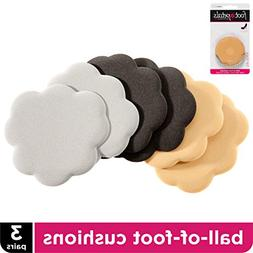 Foot Petals Tip Toes Combo Pack 6 piece