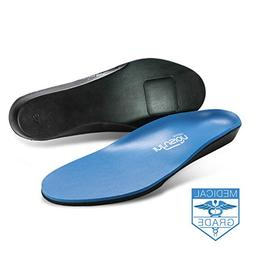Infusion Ultra-Soft Shoe Insoles: Padded Foot Orthotic Inser