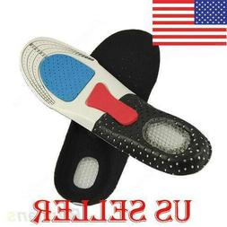 Unisex Cushion Foot Care Shoes Insert Pad Sole Insole Men Si