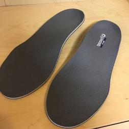 Powerstep Wide Fit Gray Hard Arch Comfort Insole Shoe Insert