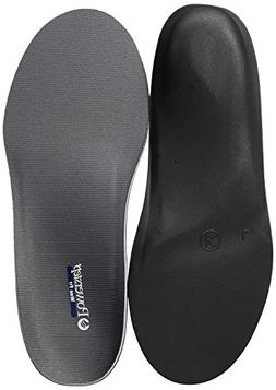 Powerstep Wide Fit Full Shoe Inserts, Gray, 4 6E US