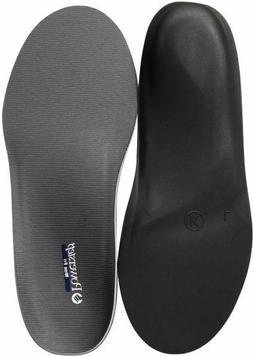 Powerstep Wide Fit Full Shoe Inserts, Gray, 5 6E US