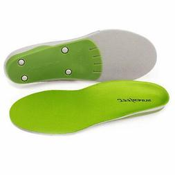 Superfeet wideGREEN High Arch Orthotic Insoles for Wide Feet