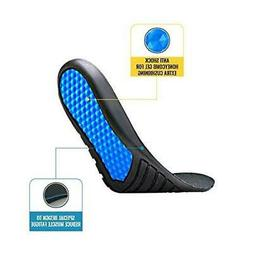Work Boot Insoles for Men Boots Shoes - Shock Absorbing Inse