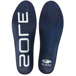 SOLE Work Medium Volume Footbed Insoles, Mens Size 6.5-8 / W