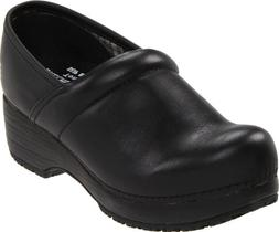 Skechers for Work Women's Clog, Black, 8.5 M US
